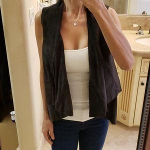 Rezrekshn by esther chen 100% leather vest,  XS